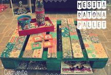 Cacharito Tienda de Diseño / Somos un local de decoración. Tenemos una amplia linea de almohadones propios. También tenemos un diseño exclusivo de muebles Retro. Restauramos, Reciclamos.