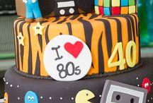 Anos 80 - festa e roupa