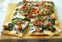 vegetarian food / Vegetarian food isn't only salad!These recipes proof the opposite. / by Alicia
