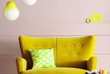 Jaune / yellow / Jaune, yellow couleur, color / by laminutedeco