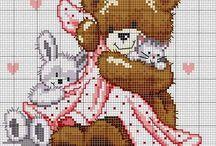 Cross Stitch - Maskotki