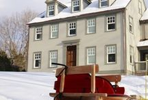 Colonial Homes / by Elaine Kerr