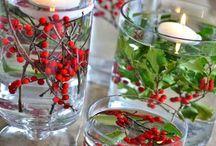 DIY Tischdekoideen mit Blumen zu Silvester