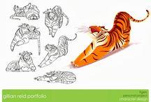Desenhos estilizados