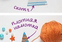 Barn pyssel, jul / kids crafts christmas