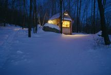 cabin porn / free cabins and other places