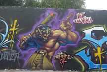 HUMONE GRAFFITI MEXICO / ARTWORK