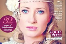 Dorset Bride Mag / Our home county front cover so proud to have helped create this .