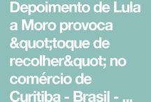 DEPOIMENTO DE LULA A MORO