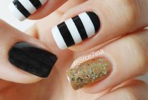 Tie Dye Gelish Nail Art tutorial