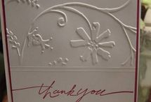 CARDMAKING IDEAS****THANK YOU