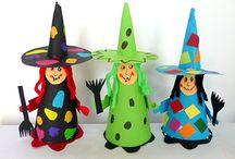 Basteln an Halloween
