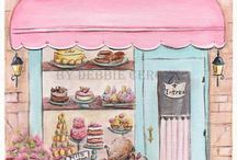 French shop fronts / ect