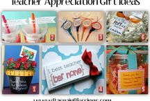 Teacher appreciation/ end of year thank you gift  / by Cloudy Ya