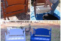 Riciclare letti sedie  cassetti e porte