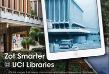 #ZOTSMARTER / Advertorials from the Libraries' Zot Smarter @ UCI Libraries campaign; which reflects the library services and resources that help UCI 'Zot Smarter' everyday.  Join the conversation on social media by using the hashtag, #ZotSmarter!