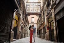 Preboda en Barcelona de Fran y Nia