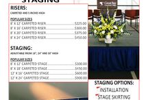 Staging and Risers