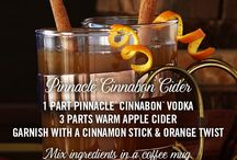 Pinnacle® Cinnabon® Cider / A flavor for everything awesome about Autumn. Pinnacle® Vodka has over 40 unique flavors to discover, enjoy and share this Fall.