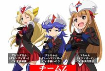 Robot Girls Z / Robot Girls Z (ロボットガールズZ Robotto Gāruzu Zetto) is television anime series produced by Toei Animation. The series is a comedic parody of various mecha series produced by Toei, anthropomorphizing robots from those series into magical girls. The series aired on the Toei Channel between January 4, 2014 and March 2, 2014 and was simulcast by Crunchyroll.