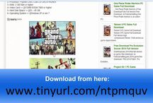 GTA V Download for PC / Grand Theft Auto V PC Download is an open world activity undertaking feature amusement created by Rockstar North and distributed by Rockstar Games. It was discharged on 17 September 2013. Grand Theft Auto V Game for pc is played in third-individual and joins driving and activity gameplay in an open nature's turf, permitting the player to interface with the amusement world at their relaxation.