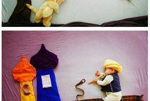 escenografia foto niños