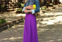 MAXI STYLE / Over-dosing on maxi skirts and dresses. / by Dip Tea