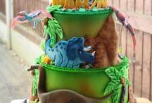 B-day boy cake