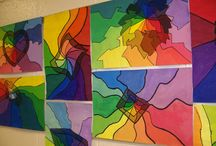 ART Ed - Elements / Line, shape, form, space, texture, value and color / by Jennifer .·:*¨¨*:·. CRAcademy.·:*¨¨*:·