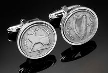Irish Coin Cufflinks