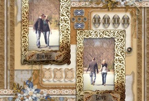 Scrapbook layouts AFS / Digital scrapbook pages using products from Art for Scrapbooking