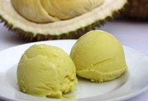 Ice cream durian
