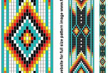 bead pattern for Native American