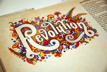 Text/Hand Lettering / by Elyse Nakashima