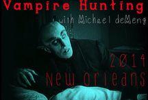 Vampire Hunting  / http://www.valleyridgeartstudio.com/artventures/new-orleans-2014/