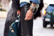 how to: style black leather leggings
