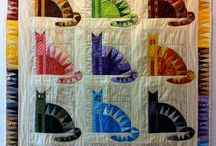 Quilts - Cats / by Lindee Miller Goodall