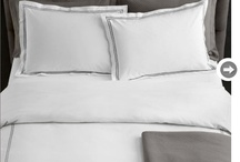 Luxurious Linens / There is nothing like clean crisp white bed linen.