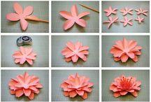 Kukka-askartelua