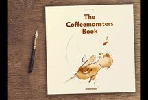 """the coffeemonsters book / fully funded kickstarter project for the first """"the coffeemonsters book"""". With perks like a mug, a t-shirt, coffee beans and other cool stuff."""
