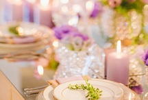 Wedding Decor / Linens, center pieces, flowers, etc. / by Deila Caballero