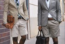 Summer Suit Styling