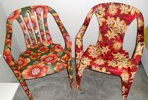 cadeiras forradas