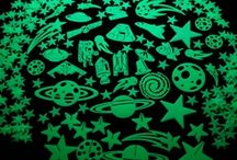 Glow in the Dark Stars and Shapes / Home to our rich assortment of glow in the dark stars and shapes. Small sets, shapes, and themes all the way up to large sets for covering entire ceilings!