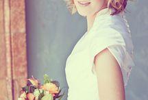 Wedding hair for Gem