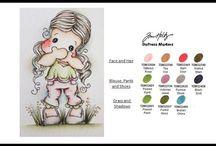 Tilda Magnolia - Coloring tips & tricks
