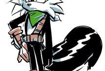 Geoffrey the skunk