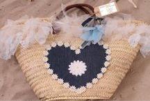 Rieten strandtassen Ibiza TastefulTas.nl / Exclusieve handgemaakte strandtassen Ibiza stijl