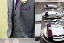 Wedding Decor Elegant Purple