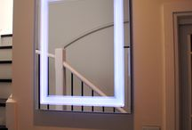Art Deco colour changing LED Lighted Mirror / 700mm W x 900mm H, Art Deco style LED lighted Mirror, change the colour of the light via your smartphone. Choose from 64 million colours. Made in Australia by Clearlight designs. This Light Mirror was installed in Sydney last week, another very happy customer. Please visit www.clearlightdesigns.com.au